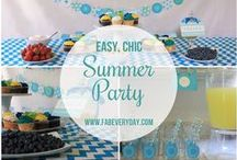 Summer Party and Sour Food Competition