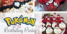 Grayson's Pokemon Themed Birthday Party