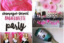 Champagne-Themed Bachelorette Party