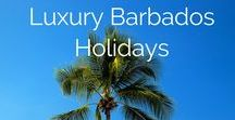 Luxury Barbados Holidays / Barbados is world-famous for being a jet-set escape, celebrities and the like lured by the promise of warm tropical weather, soft white sand beneath their feet, beautifully clear aquamarine water to swim in and a fabulous collection of luxury hotels, private villas and resorts to reside at on the Platinum Coast.