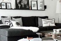LIVING ROOMS / Living room decor ideas