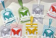 gift tags/cards / by Pam Klaeser