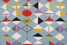 Vintage Fabric & Pattern