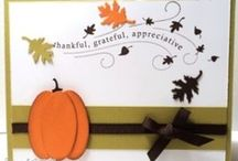 cards-fall/thanksgiving / by Pam Klaeser