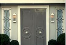 Exterior Paint Combo's / Inspiration for exterior residential paint combinations that will work, using almost exclusively Benjamin Moore Paints / by Rebecca Dumas/Gregory's Paint & Flooring