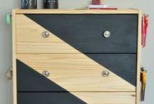 IKEA HACKS / Home decor ideas using Ikea products. Ikea hacks.