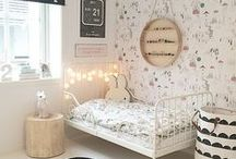 GIRLS BEDROOMS / Ideas for Decorating a girl's bedroom