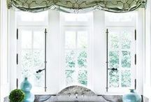 Ways to Treat a Window / Great ideas for simple, classic window treatments from shades, plantation shutters, to panels and valances.  Inspirational ideas for clients, WE DO WINDOW TREATMENTS AT GREGORY'S PAINT & FLOORING IN JOHNS CREEK. Less is more! / by Rebecca Dumas/Gregory's Paint & Flooring