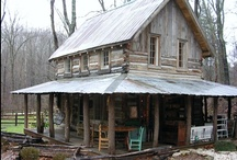 Love Rustic Cabins / by Betty Reason