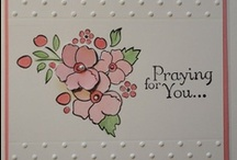 Sympathy Cards SU / by Patricia Lemont