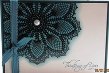 Doily Cards SU / by Patricia Lemont
