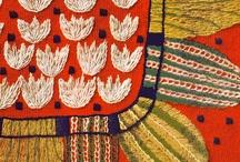 Folk Art Pattern, Embroidery