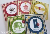 Patterned Occasions Cards SU / by Patricia Lemont