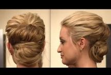 Hair Tutorials - Buns, Chignons, and Tucks / Hairstyle tutorials and DIY, focused on buns, twists, and knots! / by Linnea E