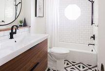 BATHROOMS / Home decor Bathroom ideas
