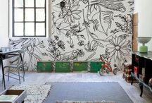 Mural Inspiration / Ideas and inspiration for interior murals in homes and businesses. / by Megan Rains