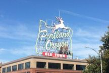 Travel Portland Oregon / Now on my 'favourite cities' list since my visit there in October 2015