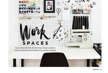 CRAFT ROOMS / Craft room ideas and inspiration.