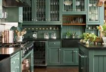Kitchens / by Candyce Winget