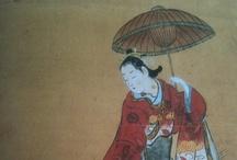 鳥居清信 Torii Kiyonobu