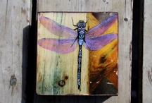 My creations - Recycled WoodBlock Art