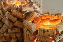 Wine and Corks / wine, cheese, appetizers with wine, corks and more! / by Kim Minard