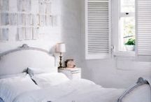 Dreamy Bedrooms / I love sleeping. I love interior design. Bedrooms combine these passions perfectly.