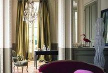 Paris | Home Decor Ideas / Parisian apartment and home decorating inspiration.