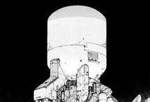 ILLU-works of Katsuhiro Otomo