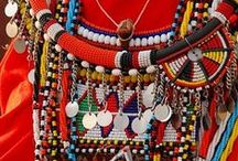 MAASAI / A celebration of the Maasai people, colorful, powerful, strong and creative.