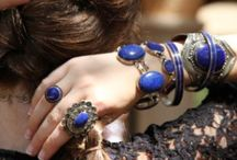LAPIS LAZULI / Gorgeous Lapis Lazuli pieces we love. An incredible gem, the most beautiful is mined in Afghanistan.