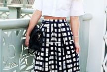 BLACK AND WHITE IS SO CLASSIC / Our favorite things black and white, it is so classic and chic.