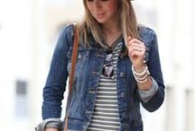 DENIM DUDS / The denim trend is a classis. Great on every age and woman. Ways to wear it.