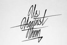 Lettering / calligraphy / by Tati Rayman