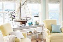 Coastal Beach | Home Decor Ideas / sea inspired decorating ideas & inspiration for the home