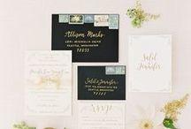 wedding stationary / wedding stationary ideas and styling