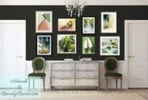 Wall Art Ideas / Inspiration and ideas for art for your home by artist Beverly Brown.