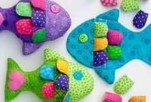 Sewing baby toys