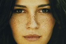 Freckles / I'm a freckled girl who appreciates other freckled girls