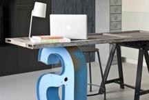 workspace & studio. /  (at home)