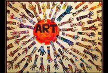 Art Teacher: Displays / by Calamity Cait