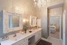 guest silver bathroom / by Meghan Hill
