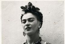frida & mexico. / Frida & Frida-inspired images and a Mexican atmosphere