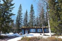 hide away. / solitary escapes . cottage . cabins . nature . hide away . freedom . stuga . hut .