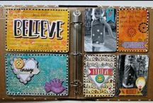 Misc. Me 8x9 / The new Misc. Me collection from Bo Bunny. So many ideas for this fun collection.