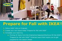Prepare for Fall with IKEA / by Debbie Flynn