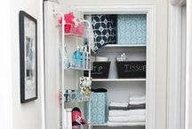 Cut the Clutter / Check out these unique ways to organize your belongings.