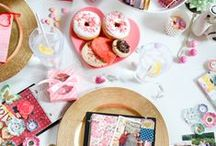 Valentine's Day / Create something straight from the heart for Valentine's Day! Check out these sweet DIY gift ideas, yummy recipes, handmade cards and simple crafts. / by Tuesday Morning