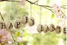 Happy Easter / Easter decor & ideas / by Debbie Flynn