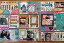 Misc. Me 12x12 / So many fun ways to create pocket pages with the new 12x12 size from BoBunny.